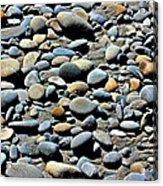 Beach Rocks Acrylic Print