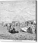 Beach Scene, 19th Century Acrylic Print