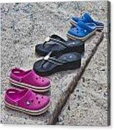 Beach Shoes Acrylic Print