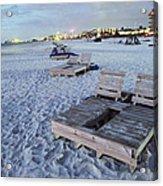 Beach Side Acrylic Print