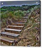 Beach Stairs Acrylic Print by Joanne Kocwin