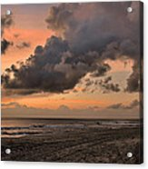 Beach Sunrise Obx  - C0983d Acrylic Print