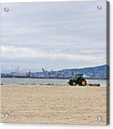 Beach Sweep Acrylic Print