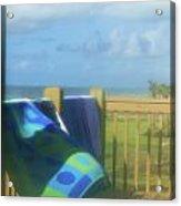 Beach Towels Acrylic Print