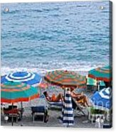 Beach Umbrellas 2 Acrylic Print