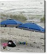 Beach Umbrells 40 Acrylic Print