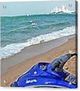 Beach Veiw Acrylic Print