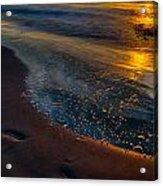 Beach Walk - Part 4 Acrylic Print