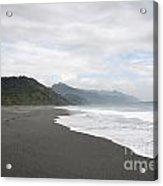 Beach Walked Alone Acrylic Print