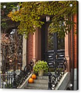 Beacon Hill Doorway Acrylic Print