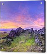 Beacon Hill Sunrise 3.0 Pano Acrylic Print