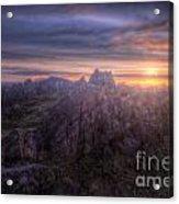 Beacon Hill Sunrise 4.0 Acrylic Print