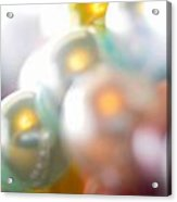 Beads A Blur Acrylic Print