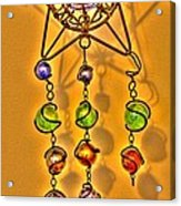 Beads Acrylic Print