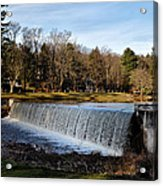 Bear Creek Lake Waterfall Acrylic Print