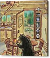 Bear In The Kitchen - Dream Series 7 Acrylic Print
