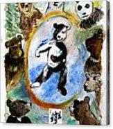 The Be-yourself Bear Acrylic Print