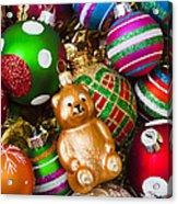 Bear Ornament Acrylic Print