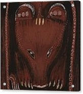 Bear Acrylic Print by Sophy White