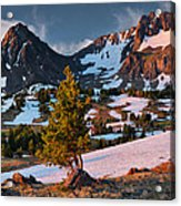 Beartooth Sunrise Light Acrylic Print