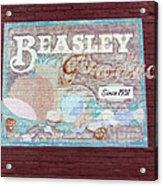 Beasley Produce Since 1931 Acrylic Print