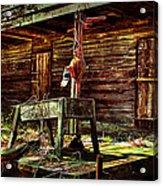 Beaten Down Barn Building Acrylic Print