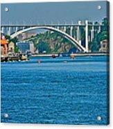 Beautiful Bridge in Porto Acrylic Print