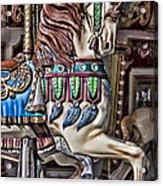 Beautiful Carousel Horse Acrylic Print