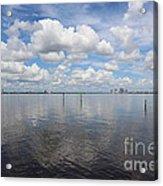 Beautiful Day In Tampa Acrylic Print