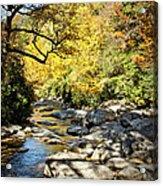 Beautiful Fall Scene Acrylic Print
