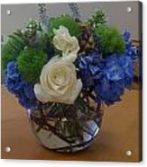 Beautiful Flowers Acrylic Print
