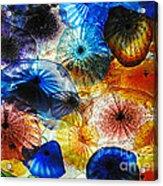 Beautiful Glass Flowers Acrylic Print