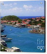 Beautiful Gustavia Acrylic Print