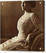 Beautiful Lady In 1880 Acrylic Print