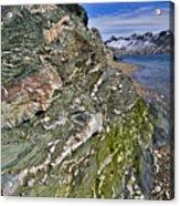 Beautiful Landscape Around Alkehornet Norway Acrylic Print