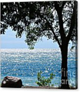 Beautiful Morning On The Lake Acrylic Print