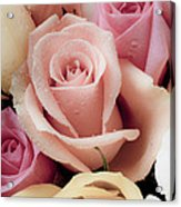 Beautiful Roses Acrylic Print by Garry Gay
