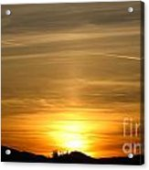 Beautiful Sunset 6.  2012 Acrylic Print