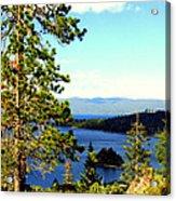 Beautiful Tahoe Acrylic Print
