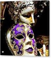 Beautiful Venetian Masks Acrylic Print