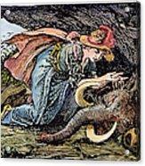Beauty & The Beast, 1891 Acrylic Print