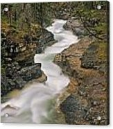 Beauty Creek, Banff National Park Acrylic Print
