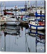 Beauty Of Boats Acrylic Print
