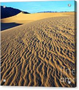 Beauty Of Death Valley Acrylic Print by Bob Christopher