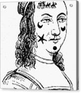 Beauty Spots, 17th Century Acrylic Print
