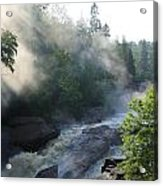 Beaver River Fog4 Acrylic Print