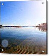 Beavers Bend State Park-lake- Oklahoma Panorama Acrylic Print