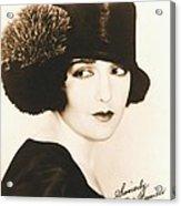 Bebe Daniels 1925 Acrylic Print