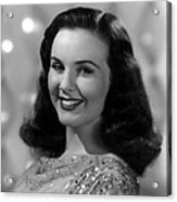 Because Of Him, Deanna Durbin, 1946 Acrylic Print