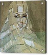 Bedouin Girl Acrylic Print